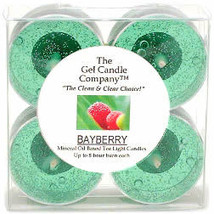 Bayberry Scented Gel Candle Tea Lights - 4 pk. - $4.46