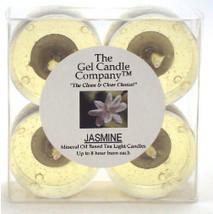 Jasmine Scented Gel Candle Tea Lights - 4 pk. - €3,88 EUR