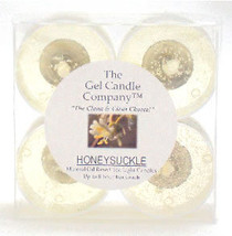 Honeysuckle Scented Gel Candle Tea Lights - 4 pk. - $4.46