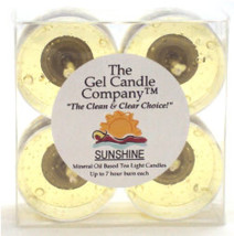 Sunshine Scented Gel Candle Tea Lights - 4 pk. - €3,90 EUR