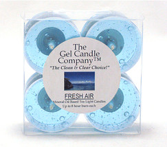 Fresh Air Scented Gel Candle Tea Lights - 4 pk. - €3,90 EUR