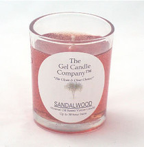 Sandalwood Scented Gel Candle Votive - $5.50