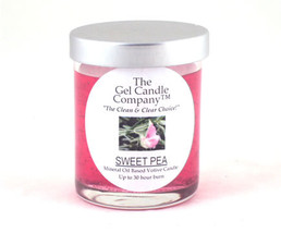 Sweet Pea Scented Gel Candle Votive - $5.50