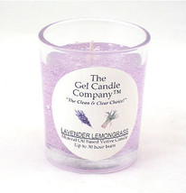 Lavender Lemongrass Scented Gel Candle Votive - $5.50