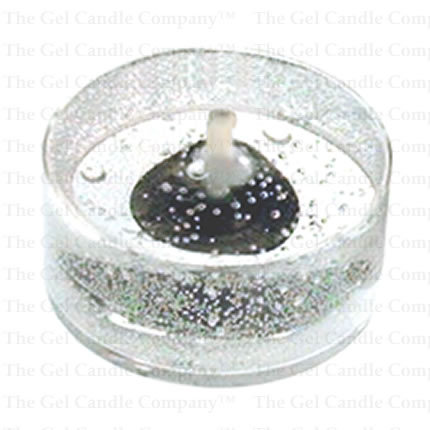 24 Unscented Gel Candle Tea Lights (up to 8 hrs each)