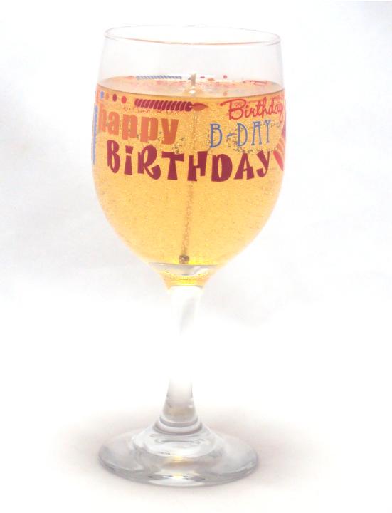 Wine happy birthday