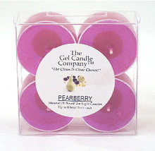 Pearberry Scented Gel Candle Tea Lights - 4 pk. - €3,91 EUR