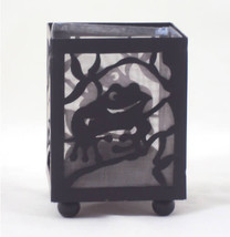 Hand Painted Shadow Play Tea Light Candle Holder - Frog - €3,45 EUR