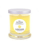 Florida Lemons Scented Gel Candle - 120 Hour Deco Jar - $14.36