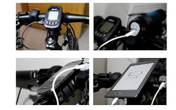 Bicycle Chain Charger to USB - Dynamo, 1000mAh