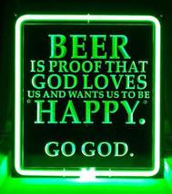 Enjoy Life 3D Acrylic Beer Bar Neon Light Sign 11'' x 10''  - $299.00