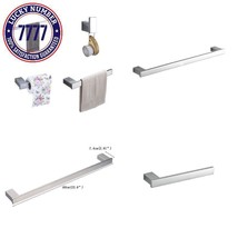 "Hiendure 4-Piece Bathroom Accessory Set With 23"" Towel Bar,Towel Hook,To... - $76.11"
