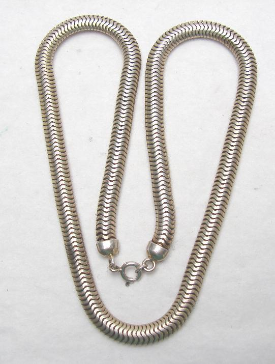 RETRO STERLING SNAKE CHAIN - FORSTNER