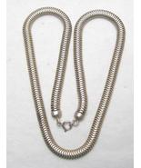 RETRO STERLING SNAKE CHAIN - FORSTNER - $60.00
