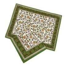 Grey Placemats and Napkins Set of 8 Summer Decorations Indian Cotton - £33.83 GBP