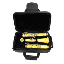 B Flat YELLOW Clarinet with Case ~ Beginner Student Starter Orchestra Band  - $83.99
