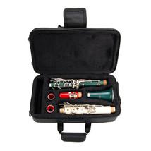 B Flat RED-WHITE-GREEN Clarinet,Case~Beginner Student Starter Orchestra ... - $85.99
