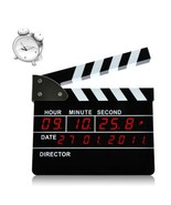 Clapperboard Style Digital Alarm Clock for Home or Office - $69.88