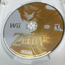 The Legend Of Zelda: Twilight Princess Nintendo Wii, Complete CIB Game image 8
