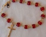 Red  beads bracelet rosary thumb155 crop