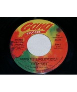 THE KAY GEES WAITING AT THE BUS STOP FUNK 45 RPM RECORD VINTAGE 1976 - $14.99