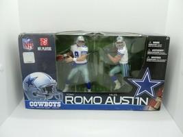 McFarlane Toys NFL Sports Picks Action Figure 2Pack Miles Austin Tony Ro... - $33.24
