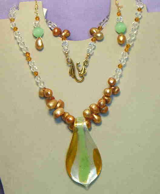Necklace set, Springtime #8-7M5392, Free Ship