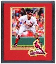 Matt Adams 2014 St. Louis Cardinals - 11 x 14 Team Logo Matted/Framed Photo - $43.55
