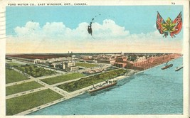 Canada, Ford Motor Co, East Windsor, Ontario, 1932 used Postcard  - $6.35