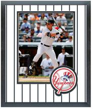Jacoby Ellsbury 2014 New York Yankees - 11 x 14 Team Logo Matted/Framed Photo - $43.55