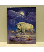 White Buffalo Poster Print by Marianne Caroselli (8 x 10) from Leanin Tree - $5.99