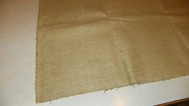 Sand Tan Chenille Upholstery Fabric Remnant  F1281 - $39.95