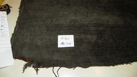 Charcoal Sable Brown Chenille Upholstery Fabric 1 Yard  R361 - $39.95