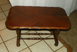 Walnut Book Matched Veneer Coffee Table  (CT70) - $399.00