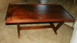 Solid Walnut Mid Century Coffee Table  (CT68) - $399.00