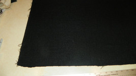 Black Nylon Upholstery Fabric 1 Yard R329 - $29.95