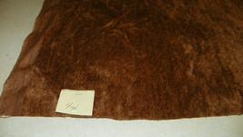 Brown Velvet Upholstery Fabric 1 Yard - $29.95