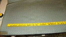 Sky Blue Gold Tan Print Upholstery Fabric 1 Yard  F1247 - $39.95
