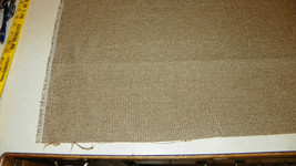 Tan Nylon Tweed Upholstery Fabric 1 Yard  R342 - $39.95