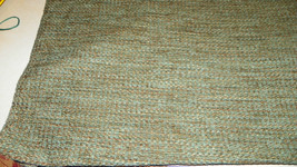 Green Beige Tweed Upholstery Fabric 1 Yard  R332 - $39.95