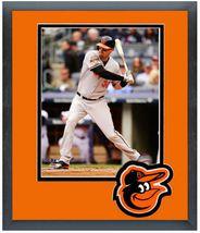 Matt Wieters 2014 Baltimore Orioles - 11 x 14 Team Logo Matted/Framed Photo - $42.95