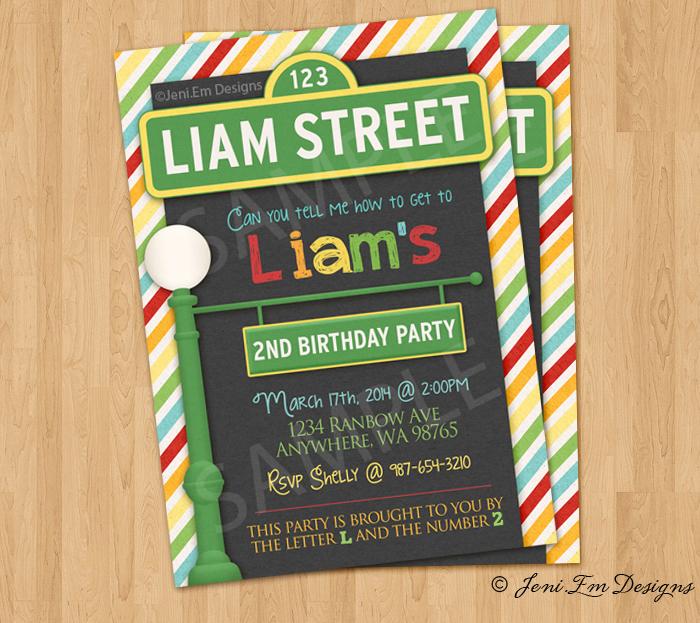 Sesamestreetinvite Preview1alt Previous Sesame Street Birthday Invitation