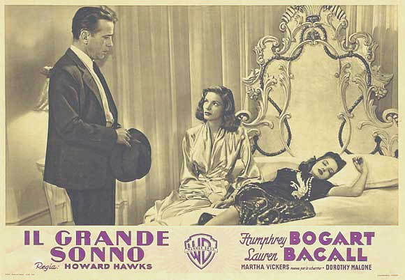 The big sleep poster 11x14 lobby card