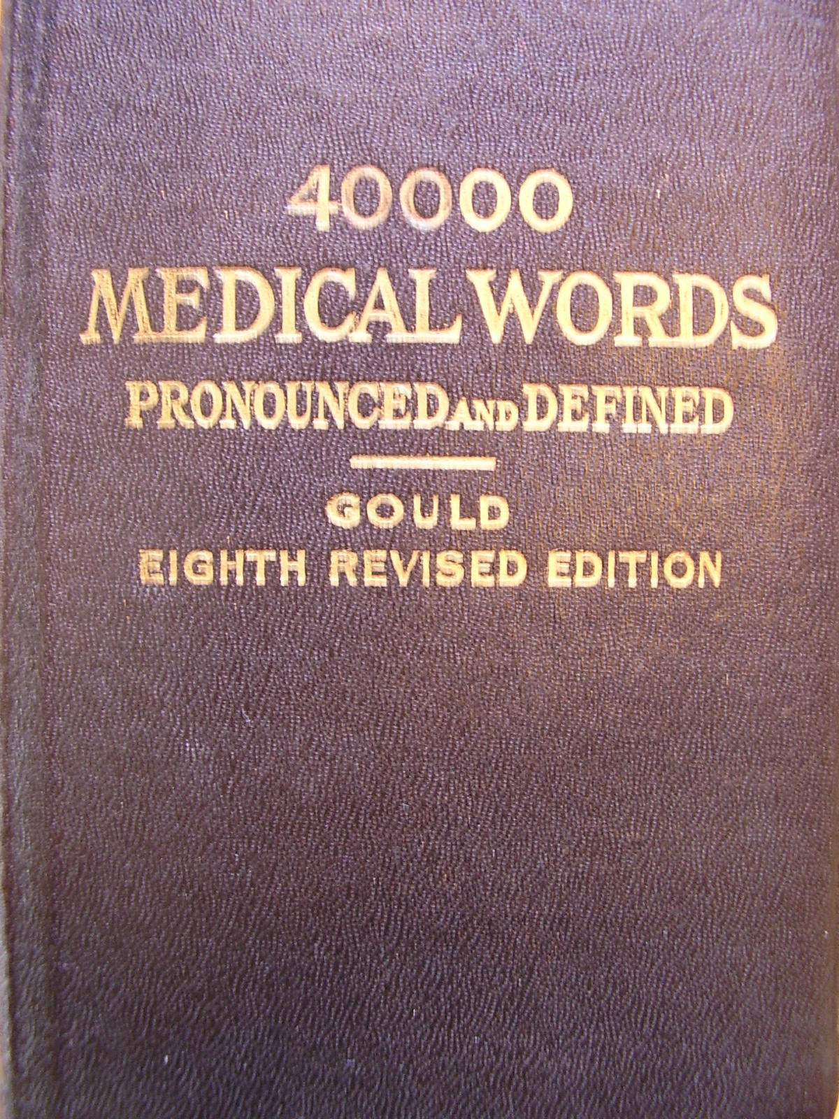Primary image for Medical Dictionary - Antique