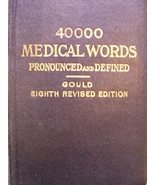 Medical Dictionary - Antique - $30.00