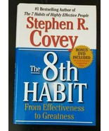 The 8th Habit: From Effectiveness to Greatness by Stephen R. Covey -Preo... - $4.89