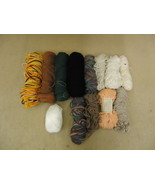Standard Knitting Yarns Multiple Colors Lot of 13 Cotton Acrylic - $23.95
