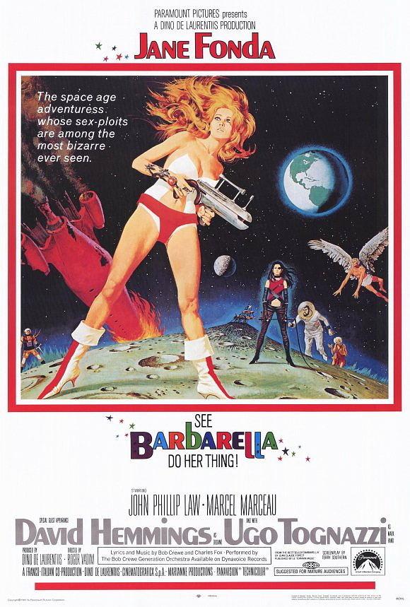 Barbarella poster 27x40