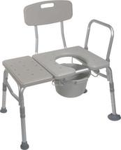 Drive Medical KD Bath Tub Seat Transfer Bench Commode - $119.95