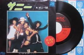 "Boney M. SUNNY JAPAN 7"" VINYL SINGLE RECORD - $4.98"